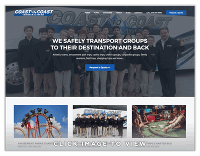 Coast to Coast Charter and Tours