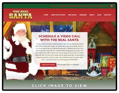 Hire the Real Santa