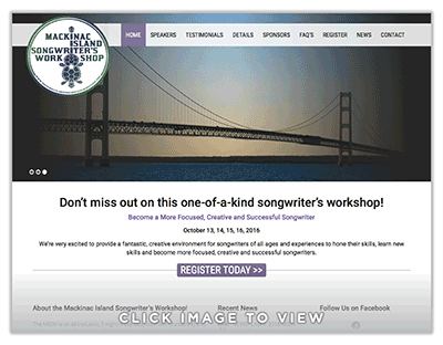 Mackinac Island Songwriters Workshop